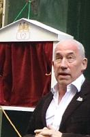 Simon Callow in Cecil Court