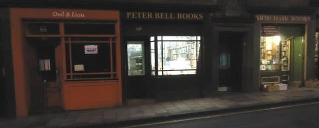 Bookshops in the West Port