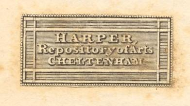 Harper's Repository of Arts - plain label