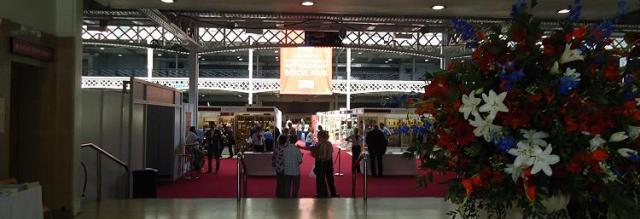 Entrance to the ABA Olympia Book Fair