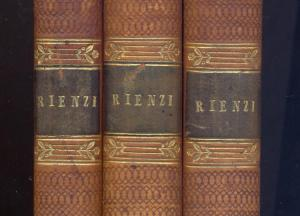First edition of Rienzi (1835)