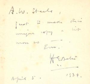 Bates Inscription