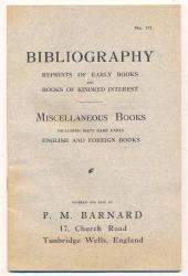 Barnard Bibliography