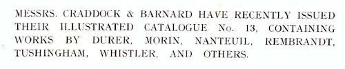Craddock and Barnard