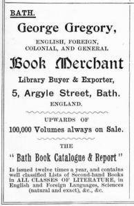 George Gregory - Book Merchant