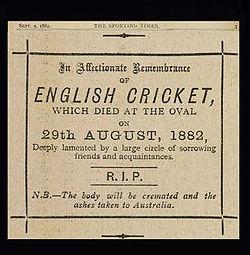 Death of English Cricket