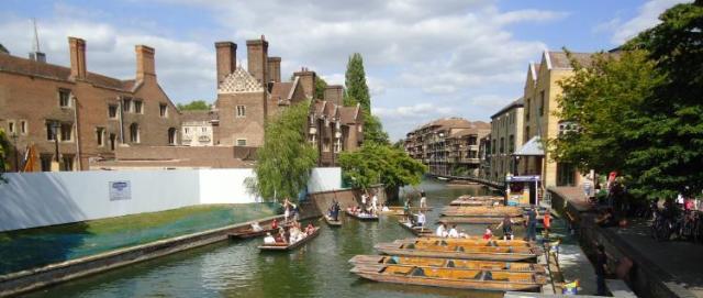 Punts at Cambridge