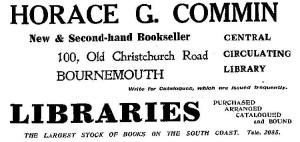 Commins Advert