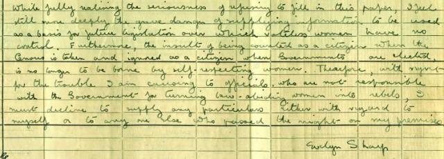 Evelyn Sharp 1911