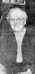 Miss Banks in 1955