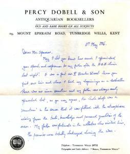 Dobell Letter