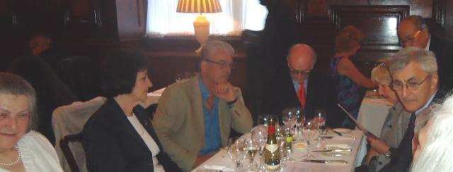 Elizabeth Strong, Sandy Critchley, Robert Frew, Keith Fletcher, Marina Fletcher, John Critchley