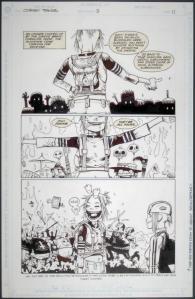 Original artwork for Tank Girl, 1995 (c) Jamie Hewlett