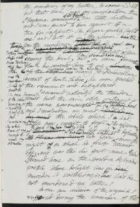 Frankenstein manuscript