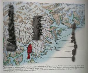 Ammassalik wooden maps