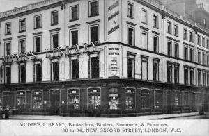 Mudie's Library, New Oxford Street