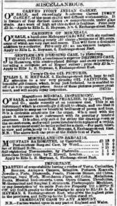 Daily Post, 10th February 1860.