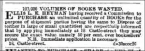 Liverpool Mercury, 10th October 1861.