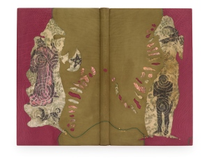 """Gawain and the Green Kinght"" - binding by Jeanette Koch."