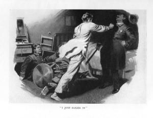 Illustration from Psmith : Journalist.