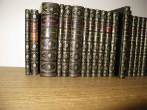 Algernon Charles Swinburne : A Collection of Twenty-Seven Bound Volumes. 1867-1908. Bound by Worsfold for Sotheran. © Charles Russell.