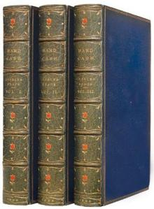 Charles Reade : Hard Cash. A Matter-of-Fact Romance. 1853.  Bound by Worsfold.  © Peter Harrington.