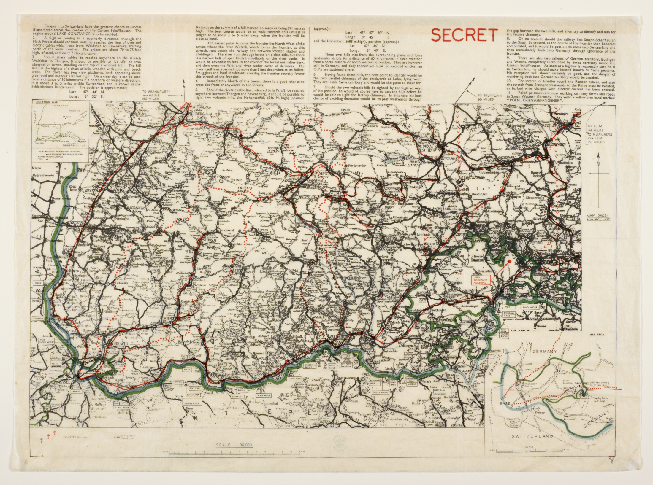 Maps and the 20th century drawing the line the bookhunter on safari - Secret escapes london office ...