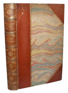 Anne Ritchie Thackeray : The Village on the Cliff.  1867. Bound by Worsfold. © Antiquates.