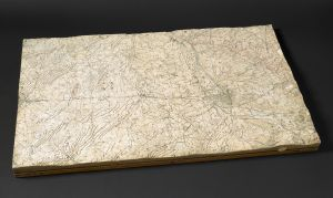Western Front Trench Model, 1917. © British Library Board.