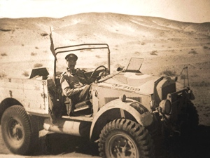 Frank Ford at war. Photograph courtesy of the Ford family.
