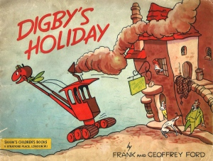 "Frank & Geoffrey Ford, ""Digby's Holiday"" (1951). Courtesy of the Ford family."