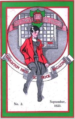 Magazine cover 1923