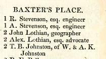 Edinburgh Directory 1841.