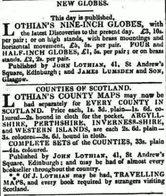 Edinburgh Evening Courant, 26th July 1828.