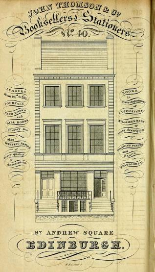 Post Office Annual Directory 1824-1825,