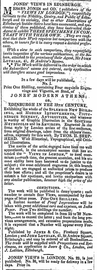 The Scotsman, 7th January 1829. © British Library Board.