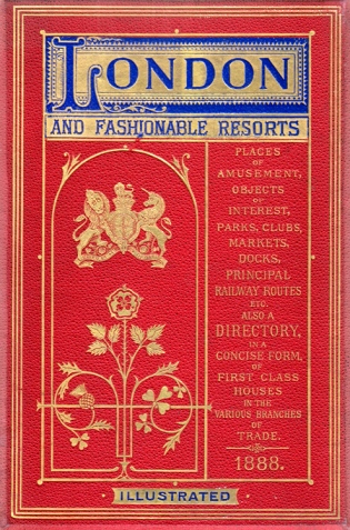 Segg's London & Fashionable Resorts 1888