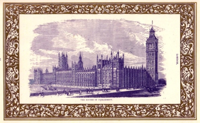 Hoses of Parliament, engraved by Henry Herbert