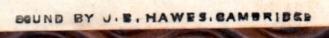 hawesstamp