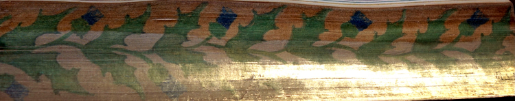 Thistle Fore-edge