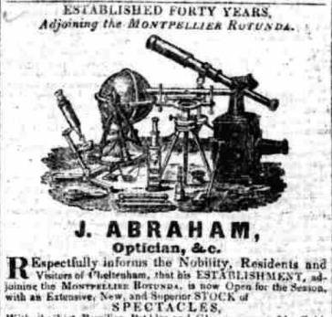 Cheltenham Chronicle, 31st May 1838. © British Library Board.