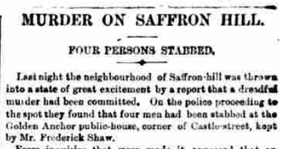 London Evening Standard, Tuesday 27th December 1864.