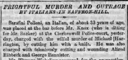 London Evening Standard, Wednesday 28th December 1864.