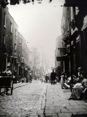 Victorian Saffron Hill, looking south